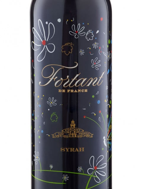 Fortant de France Syrah etikett